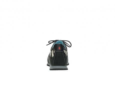 wolky sneakers 1480 ibrox 207 zwart zebraprint leer_7