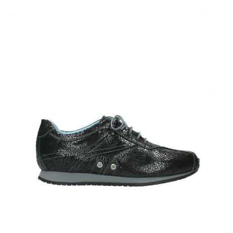 wolky sneakers 1480 ibrox 900 schwarz craquele leder