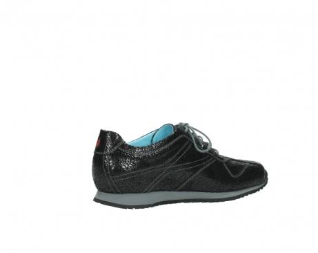 wolky sneakers 1480 ibrox 900 schwarz craquele leder_11
