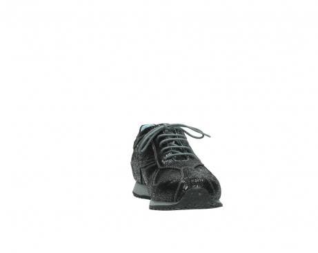 wolky sneakers 1480 ibrox 900 schwarz craquele leder_18