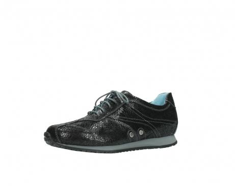 wolky sneakers 1480 ibrox 900 schwarz craquele leder_23