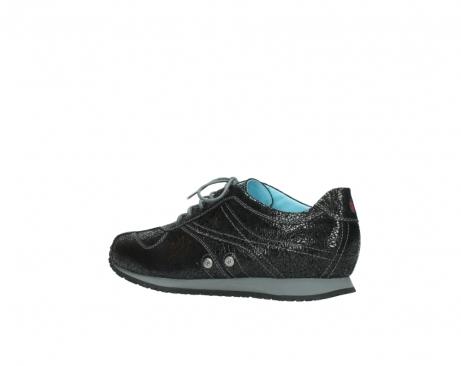 wolky sneakers 1480 ibrox 900 schwarz craquele leder_3