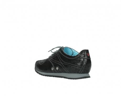 wolky sneakers 1480 ibrox 900 schwarz craquele leder_4
