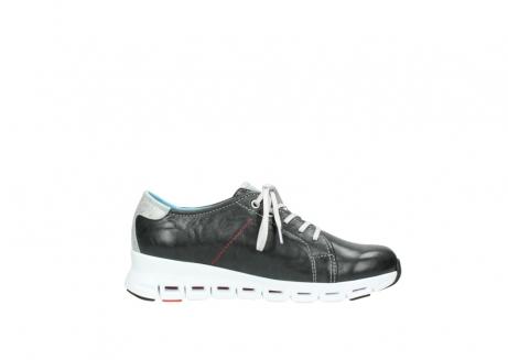 wolky sneakers 2051 mega 307 zwart zomer leer_13