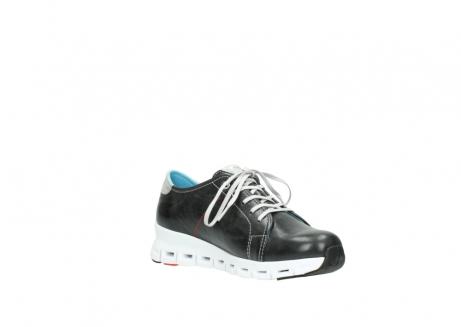 wolky sneakers 2051 mega 307 zwart zomer leer_16