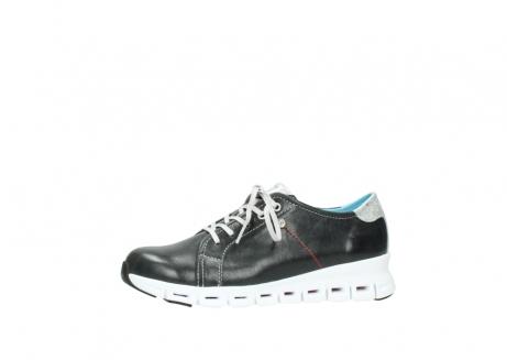 wolky sneakers 2051 mega 307 zwart zomer leer_24