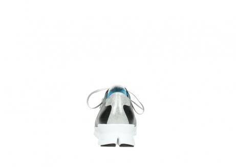wolky sneakers 2051 mega 307 zwart zomer leer_7