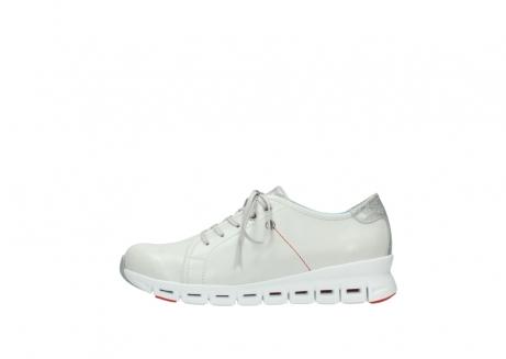 wolky sneakers 2051 mega 312 gebroken wit leer_1