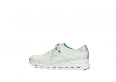 wolky sneakers 2051 mega 312 gebroken wit leer_2