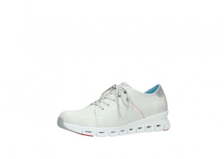 wolky sneakers 2051 mega 312 gebroken wit leer_23