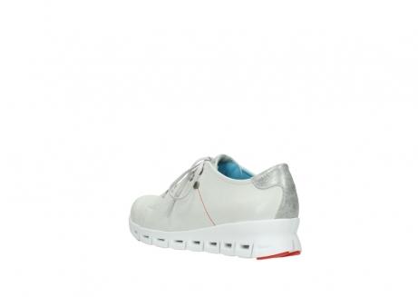 wolky sneakers 2051 mega 312 gebroken wit leer_4