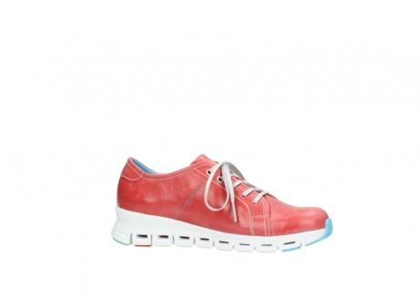 wolky sneakers 2051 mega 357 rot sommer leder_14