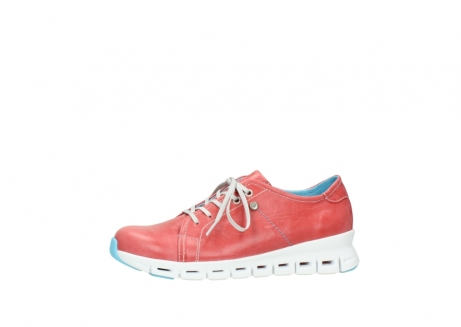 wolky sneakers 2051 mega 357 rot sommer leder_24