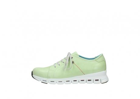 wolky sneakers 2051 mega 375 lime leer_1