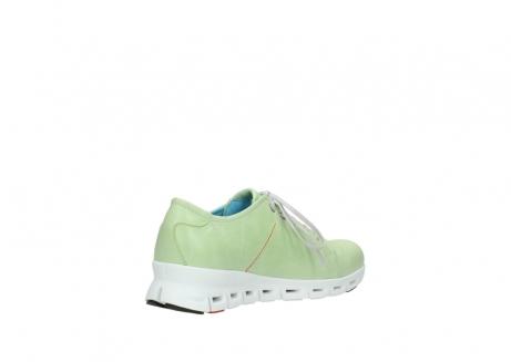 wolky sneakers 2051 mega 375 lime leer_10