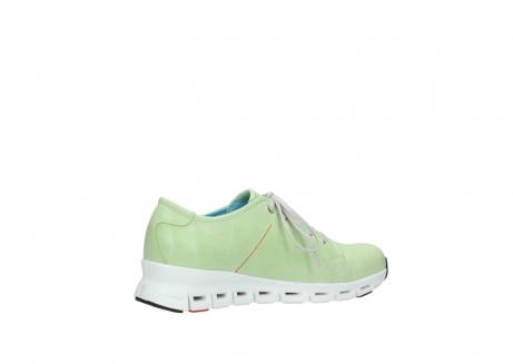 wolky sneakers 2051 mega 375 lime leer_11