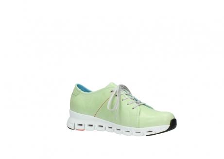 wolky sneakers 2051 mega 375 lime leer_15