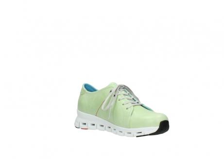 wolky sneakers 2051 mega 375 lime leer_16