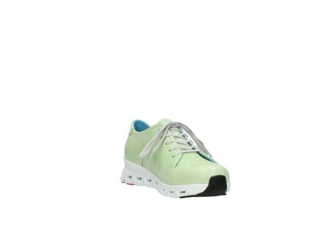 wolky sneakers 2051 mega 375 lime leer_17