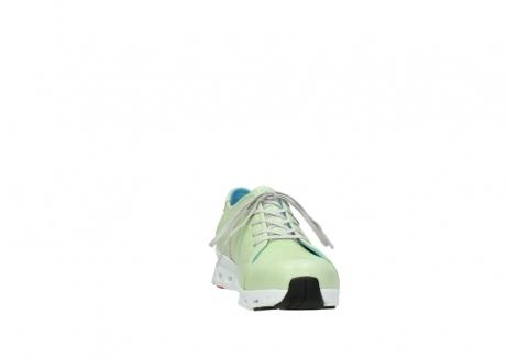 wolky sneakers 2051 mega 375 lime leer_18