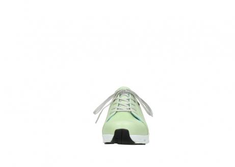 wolky sneakers 2051 mega 375 lime leer_19
