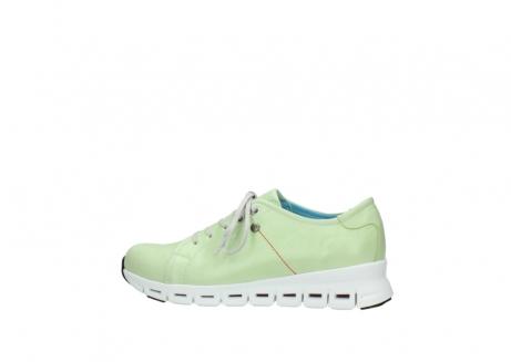 wolky sneakers 2051 mega 375 lime leer_2