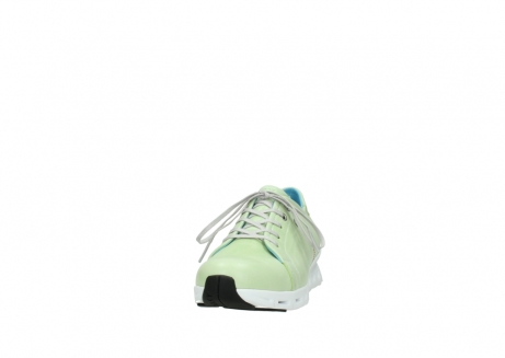 wolky sneakers 2051 mega 375 lime leer_20