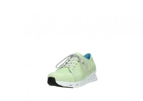 wolky sneakers 2051 mega 375 lime leer_21
