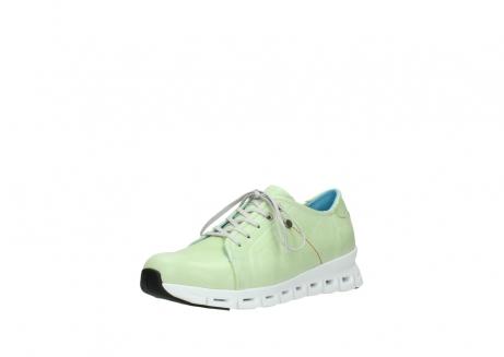wolky sneakers 2051 mega 375 lime leer_22