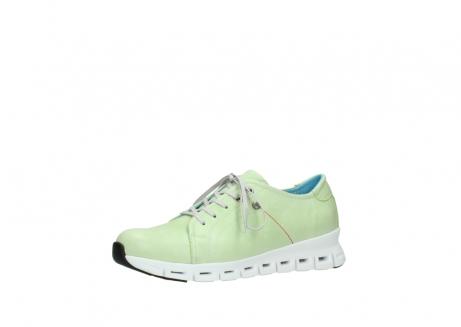 wolky sneakers 2051 mega 375 lime leer_23