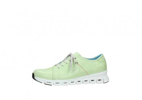 wolky sneakers 2051 mega 375 lime leer_24