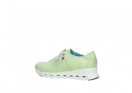 wolky sneakers 2051 mega 375 lime leer_3