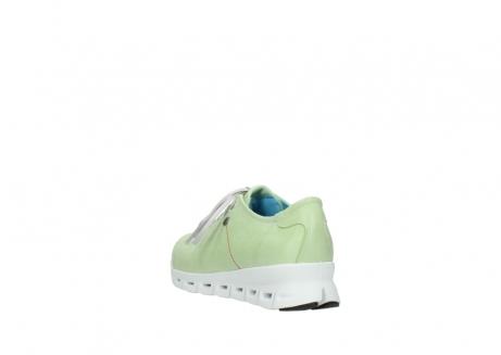 wolky sneakers 2051 mega 375 lime leer_5