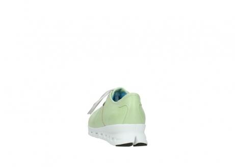 wolky sneakers 2051 mega 375 lime leer_6