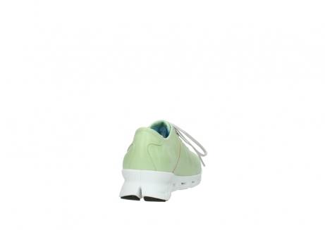 wolky sneakers 2051 mega 375 lime leer_8