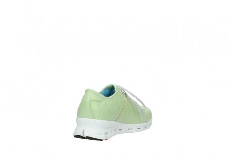 wolky sneakers 2051 mega 375 lime leer_9