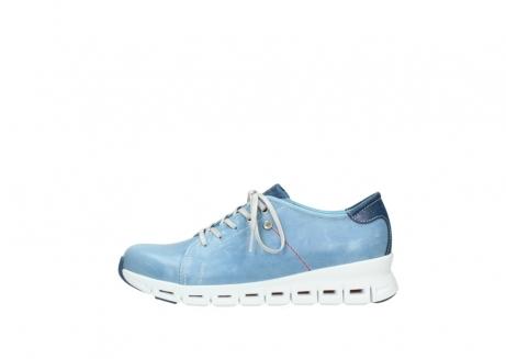 wolky sneakers 2051 mega 382 denim leer_1
