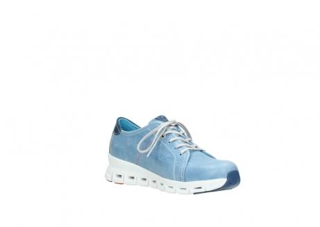 wolky sneakers 2051 mega 382 denim leer_16