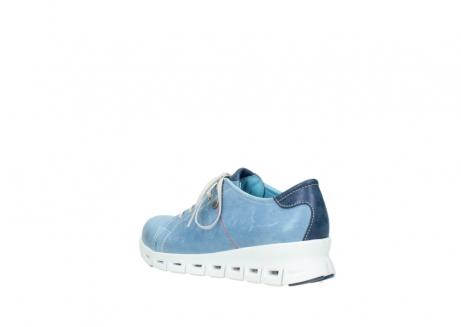 wolky sneakers 2051 mega 382 denim leer_4
