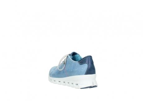 wolky sneakers 2051 mega 382 denim leer_5