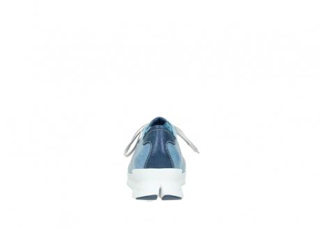 wolky sneakers 2051 mega 382 denim leer_7