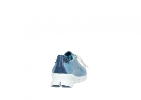 wolky sneakers 2051 mega 382 denim leer_8