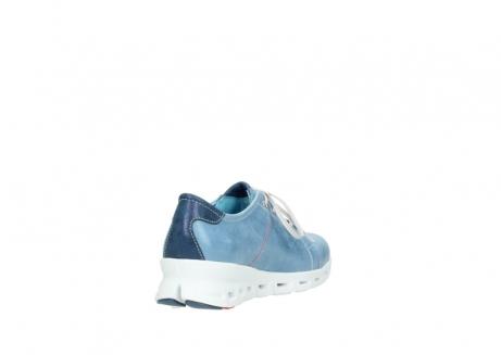 wolky sneakers 2051 mega 382 denim leer_9