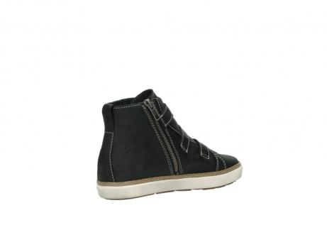 wolky sneakers 9455 vancouver 500 zwart geolied leer_10