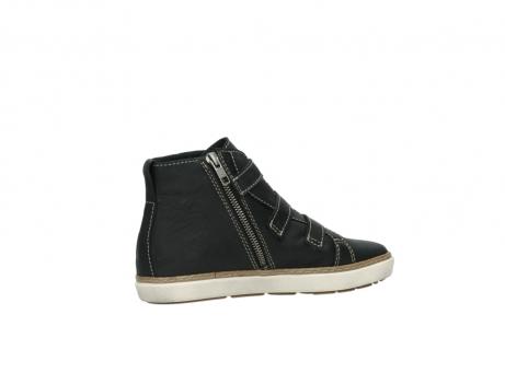 wolky sneakers 9455 vancouver 500 zwart geolied leer_11