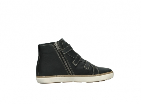 wolky sneakers 9455 vancouver 500 zwart geolied leer_12