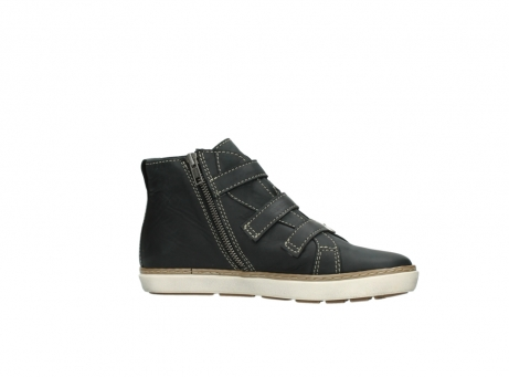wolky sneakers 9455 vancouver 500 zwart geolied leer_14