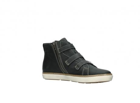 wolky sneakers 9455 vancouver 500 zwart geolied leer_15