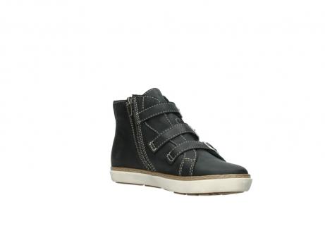 wolky sneakers 9455 vancouver 500 zwart geolied leer_16