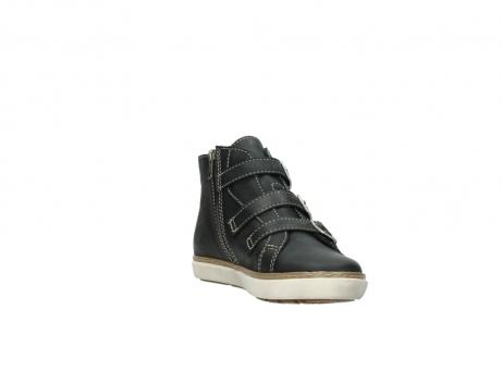 wolky sneakers 9455 vancouver 500 zwart geolied leer_17